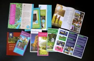 National Trust leaflets